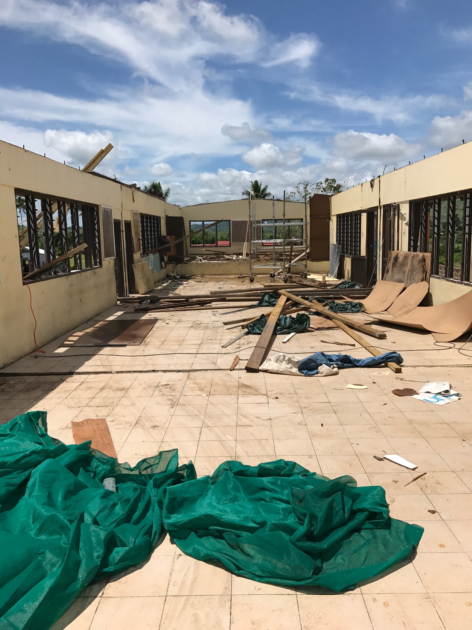 Build Back Better and Safer, follow the construction works on cyclone- hit Vunikavikaloa Primary School in Ra, Fiji