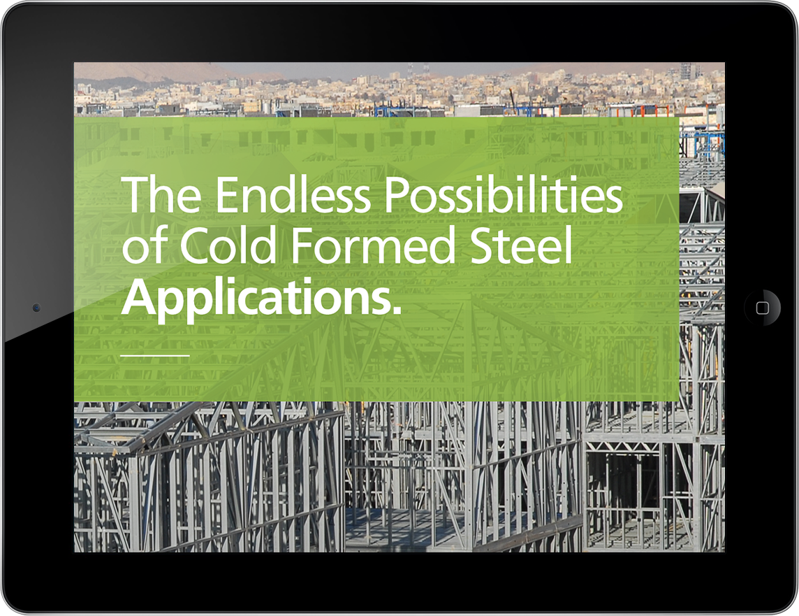 Our new eBook: The endless possibilities of Cold Formed Steel applications