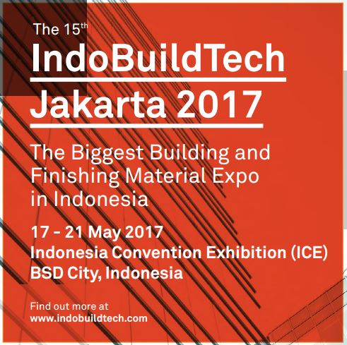Come and join FRAMECAD at IndoBuildTech tradeshow, stand 7-M-6, from 17th to 21st May 2017