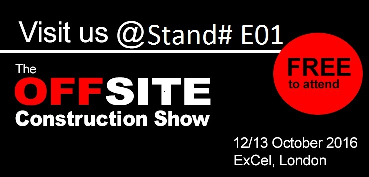Join us at the OFFSITE Construction Show in London