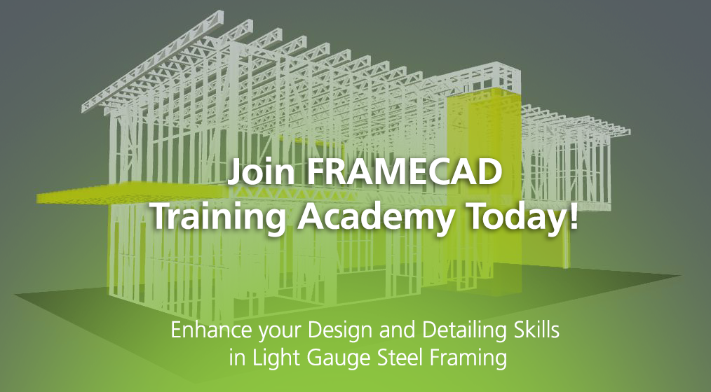 Join FRAMECAD Training Academy in April in Dubai