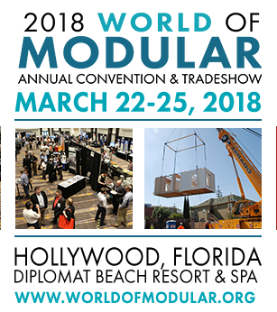 Come and join FRAMECAD at World of Modular tradeshow, 22-25 March 2018 in Hollywood