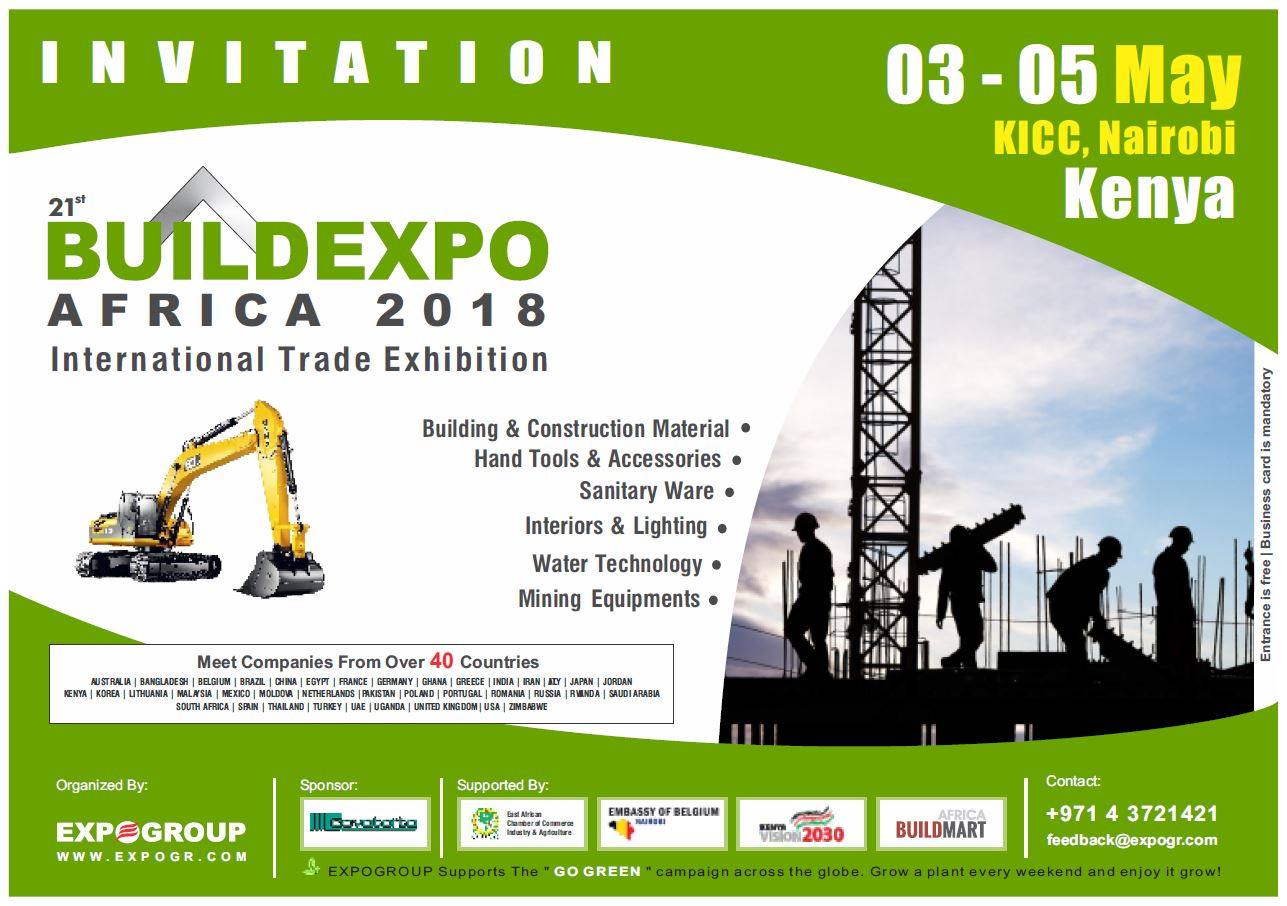 Come and join FRAMECAD at BUILDEXPO Kenya tradeshow, from 3rd to 5th of May 2018