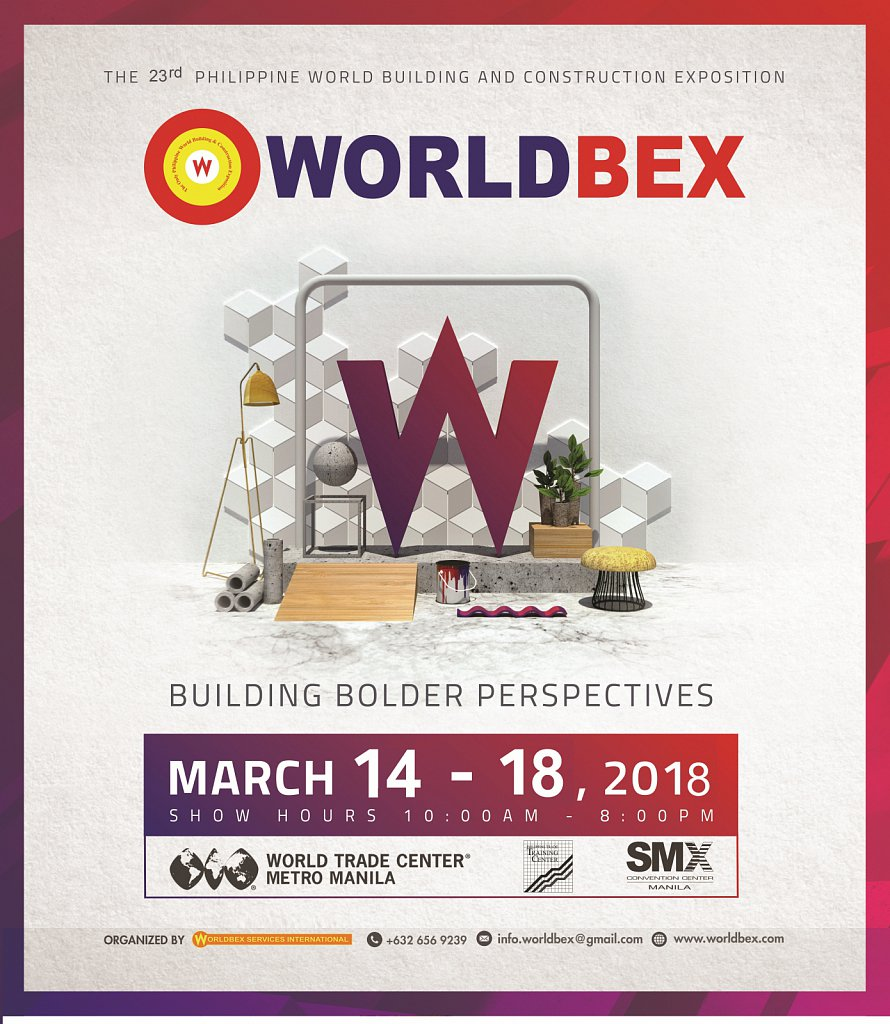 Come and join FRAMECAD at WORLDBEX tradeshow, from 14th to 18th of March 2018
